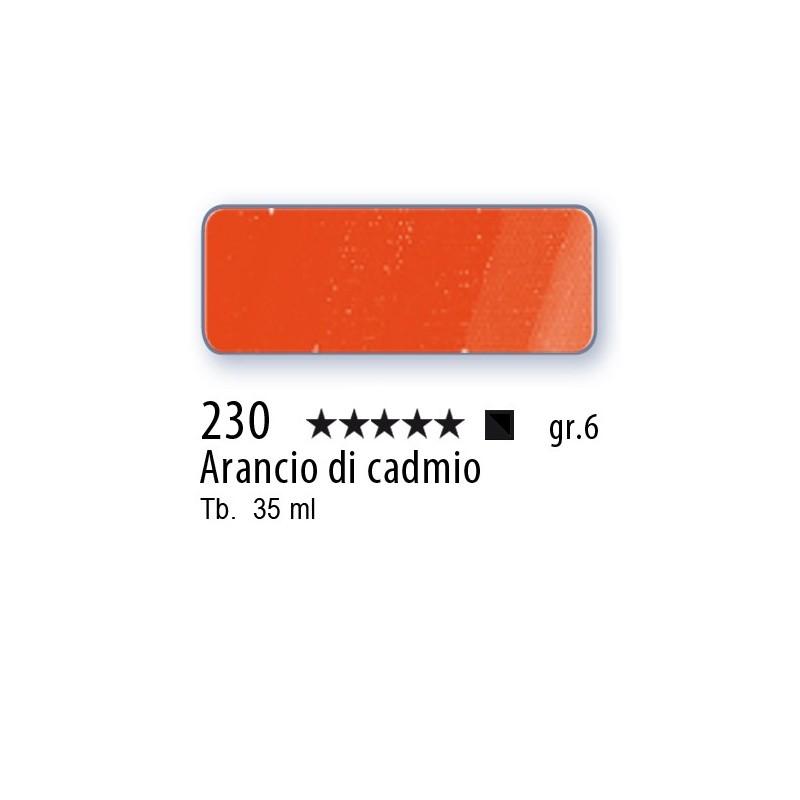 230 - Mussini arancio di cadmio