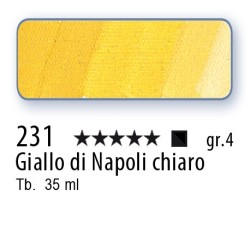 231 - Mussini giallo di Napoli chiaro