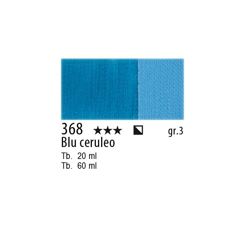 368 - Maimeri Olio Classico Blu ceruleo