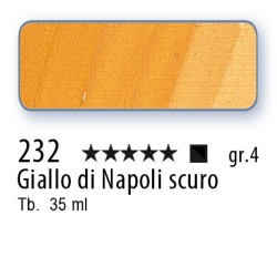 232 - Mussini giallo di Napoli scuro