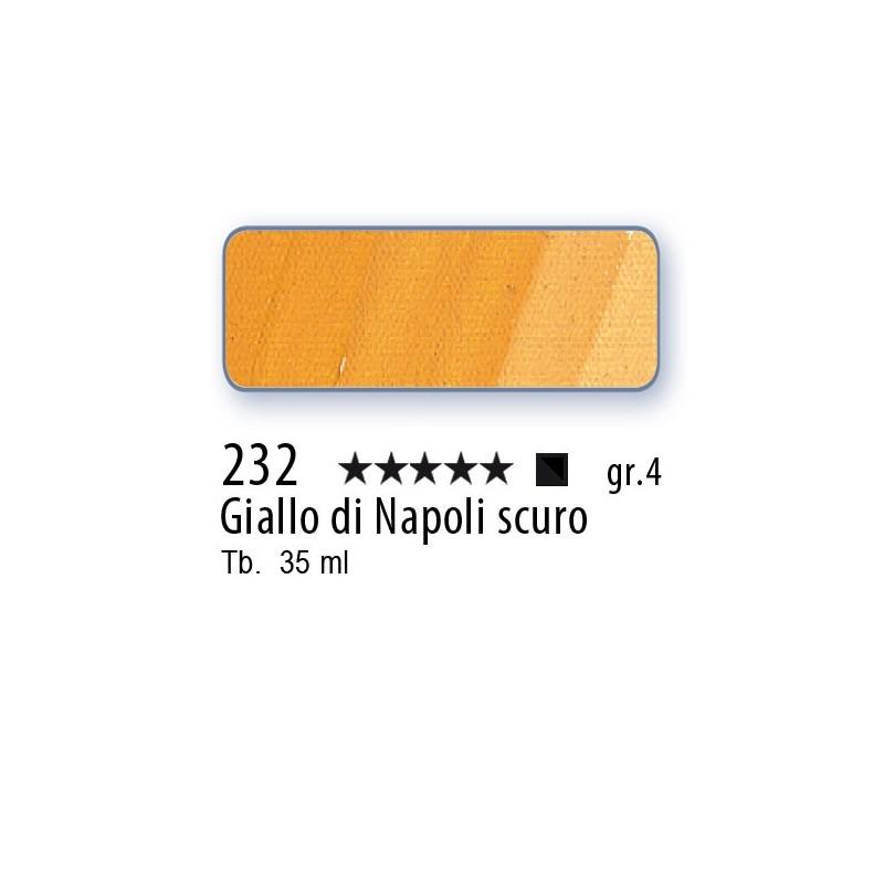 232 - Mussini giallo di Napoli scuro