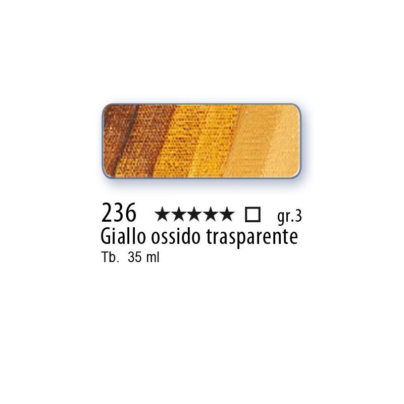 236 - Mussini giallo ossido trasparente