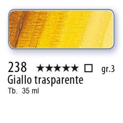 238 - Mussini giallo trasparente