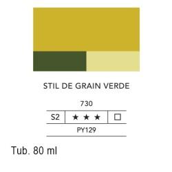 730 - Lefranc acrilico fine stil de grain verde