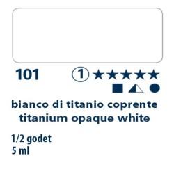 101 - Schmincke acquerello Horadam bianco di titanio coprente