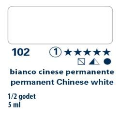 102 - Schmincke acquerello Horadam bianco cinese permanente