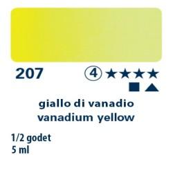 207 - Schmincke acquerello Horadam giallo di vanadio
