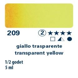 209 - Schmincke acquerello Horadam giallo trasparente