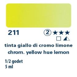 211 - Schmincke acquerello Horadam tinta giallo di cromo limone