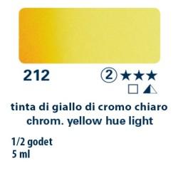 212 - Schmincke acquerello Horadam tinta giallo di cromo chiaro