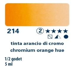 214 - Schmincke acquerello Horadam tinta arancio di cromo