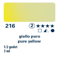 216 - Schmincke acquerello Horadam giallo puro