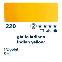 220 - Schmincke acquerello Horadam giallo indiano