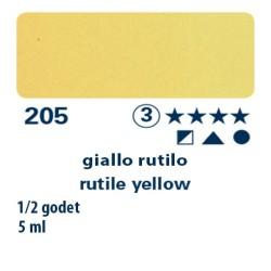205 - Schmincke acquerello Horadam giallo rutilo