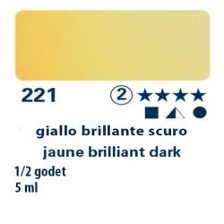 221 - Schmincke acquerello Horadam giallo brillante scuro