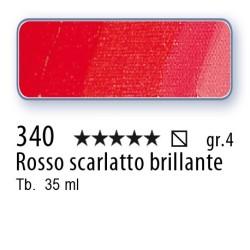 340 - Mussini rosso scarlatto brillante