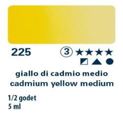 225 - Schmincke acquerello Horadam giallo di cadmio medio