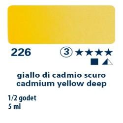 226 - Schmincke acquerello Horadam giallo di cadmio scuro