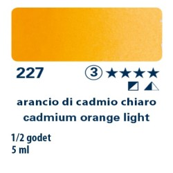 227 - Schmincke acquerello Horadam arancio di cadmio chiaro