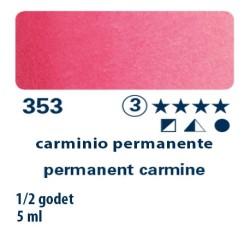353 - Schmincke acquerello Horadam carminio permanente