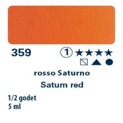 359 - Schmincke acquerello Horadam rosso Saturno