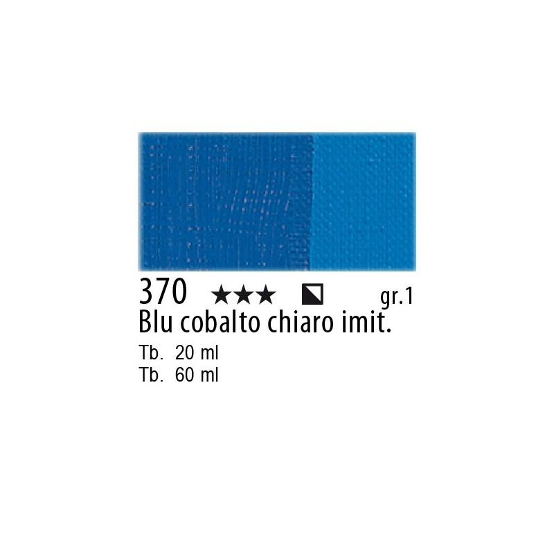 370 - Maimeri Olio Classico Blu di cobalto chiaro imit.