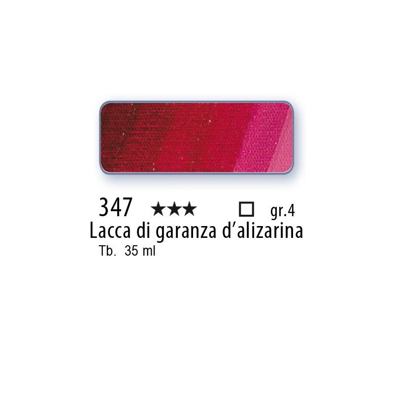 347 - Mussini lacca di garanza d'alizarina