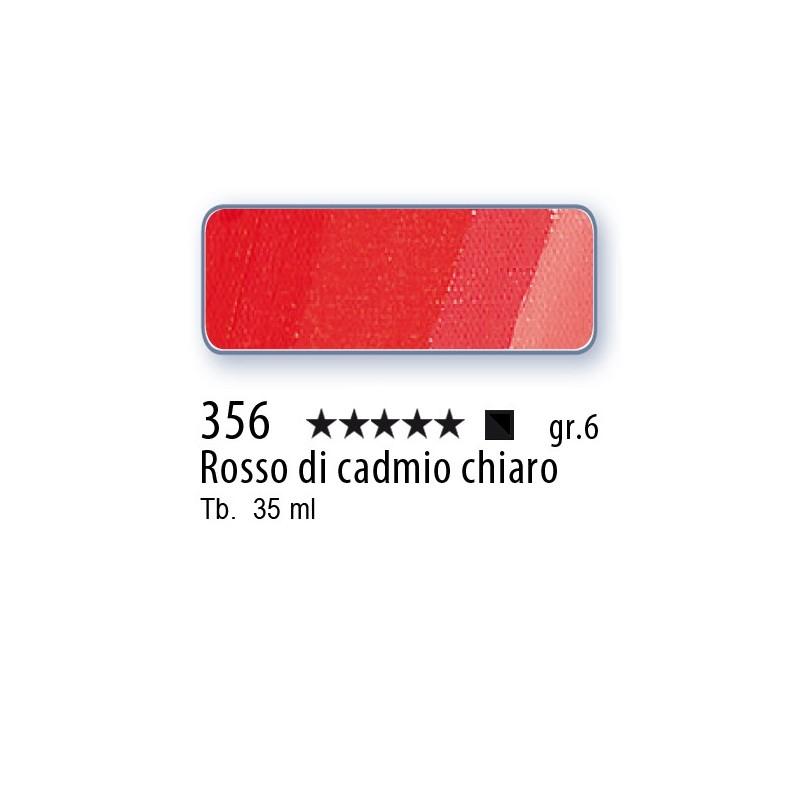 356 - Mussini rosso di cadmio chiaro