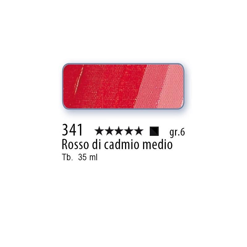 341 - Mussini rosso di cadmio medio