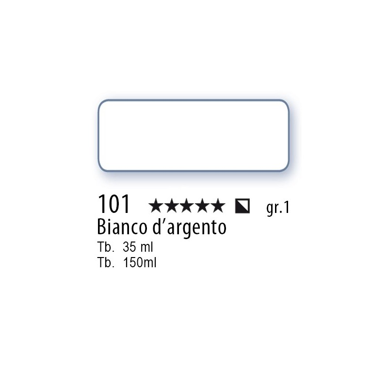101 - Mussini bianco d'argento