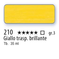 210 - Mussini giallo trasp. brillante
