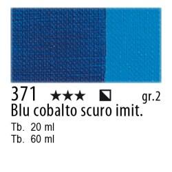 371 - Maimeri Olio Classico Blu di cobalto scuro imit.