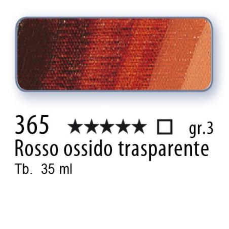365 - Mussini rosso ossido trasparente