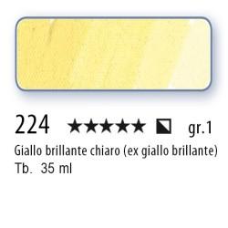 224 - Mussini giallo brillante chiaro