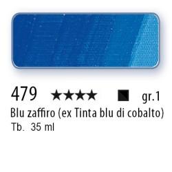 479 - Mussini blu zaffiro (ex tinta blu di cobalto)