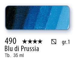 490 - Mussini blu di Prussia
