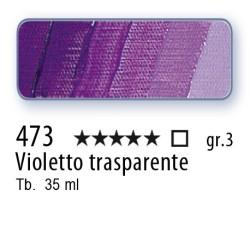 473 - Mussini violetto trasparente