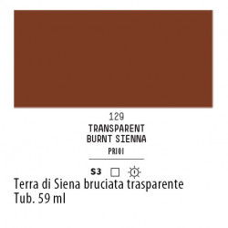 129 - Liquitex Heavy Body Terra di Siena bruciata trasparente