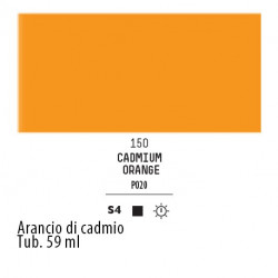 150 - Liquitex Heavy Body Arancio di cadmio
