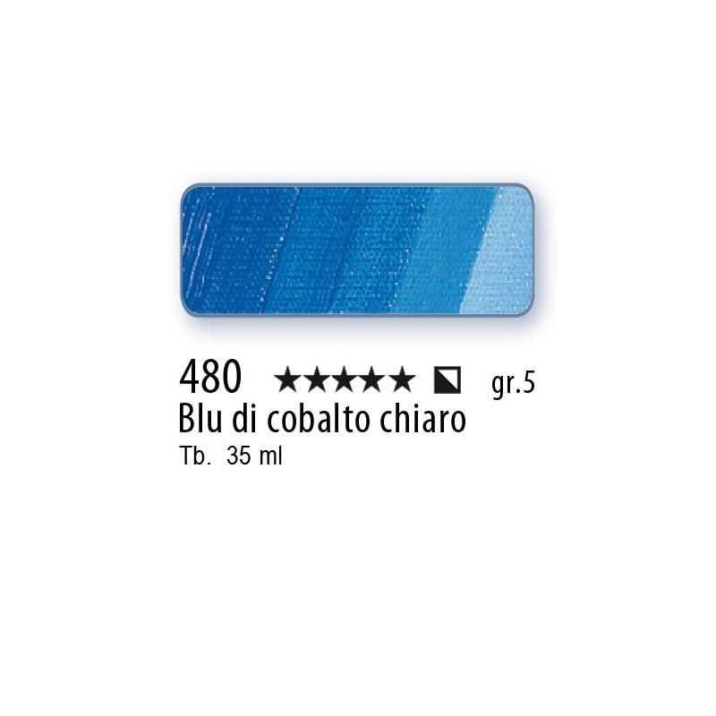 480 - Mussini blu di cobalto chiaro