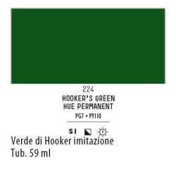 224 - Liquitex Heavy Body Verde di hooker imit.