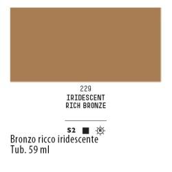 229 - Liquitex Heavy Body Bronzo ricco iridescente
