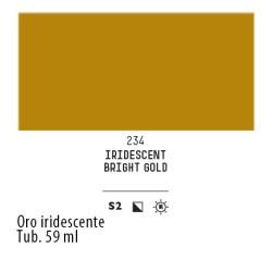 234 - Liquitex Heavy Body Oro iridescente