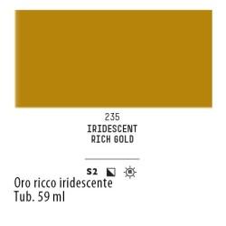 235 - Liquitex Heavy Body Oro ricco iridescente
