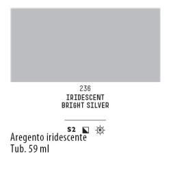 236 - Liquitex Heavy Body Argento iridescente