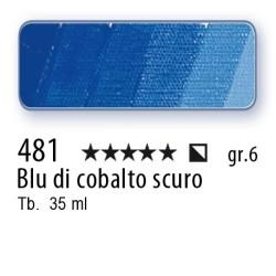 481 - Mussini blu di cobalto scuro