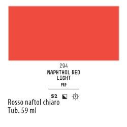 294 - Liquitex Heavy Body Rosso naftolo chiaro