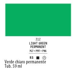 312 - Liquitex Heavy Body Verde chiaro permanente