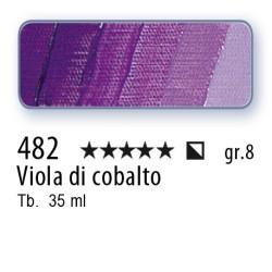 482 - Mussini viola di cobalto