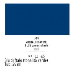 316 - Liquitex Heavy Body Blu di ftalo (tonalita verde)
